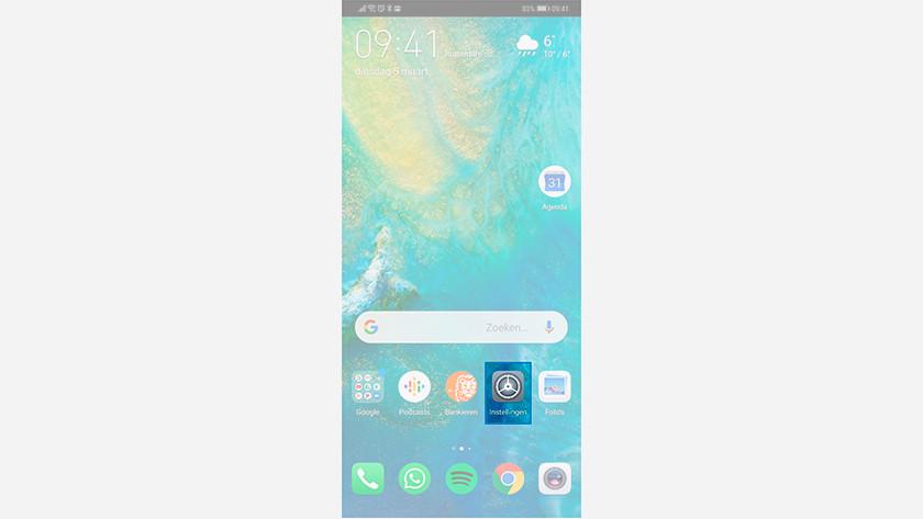 Réinitialiser un smartphone Huawei