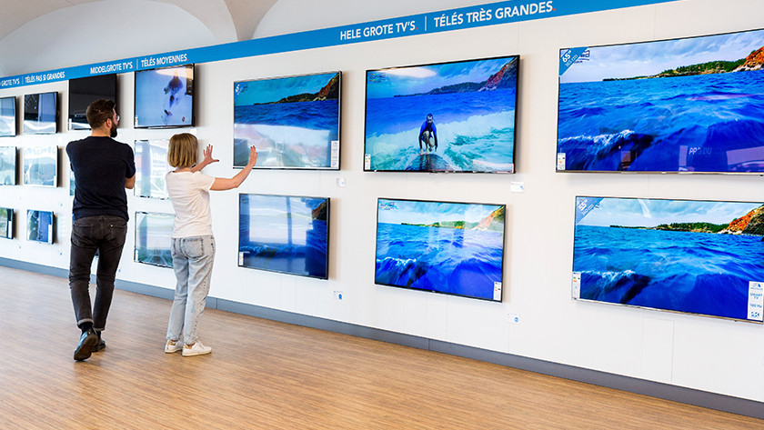 TV stores