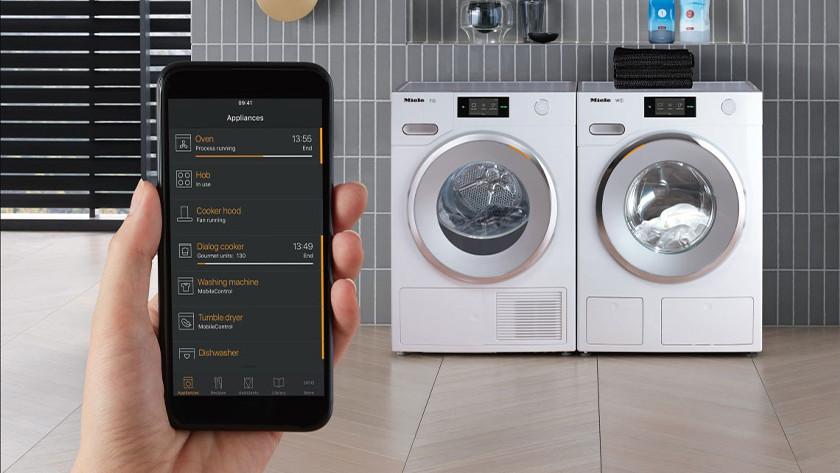 Wasmachine met wifi