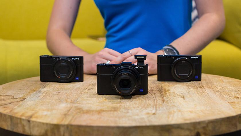 Vergelijkingen van Sony camera's