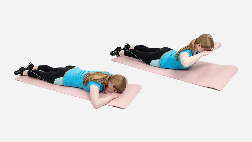 explication du back extension sur le tapis de fitness