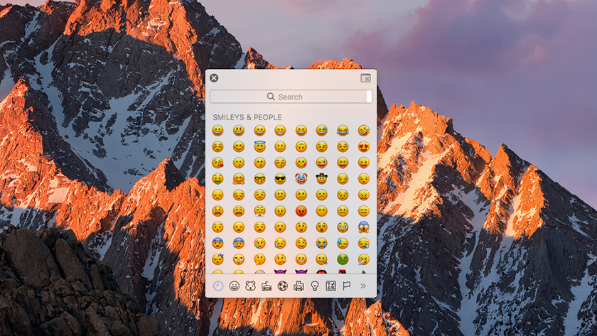 Apple MacBook emoji