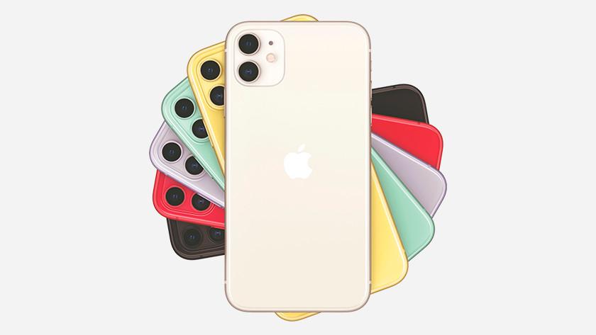 Kleuren iPhone 11