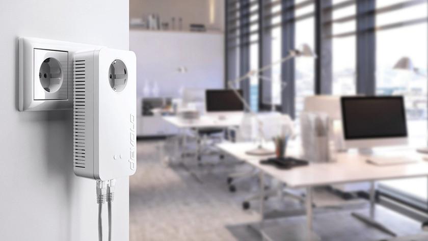 Powerline adapter met wifi