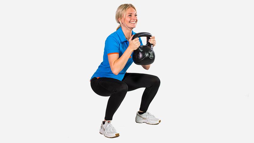 Entraîner les muscles des jambes avec un Kettlebell