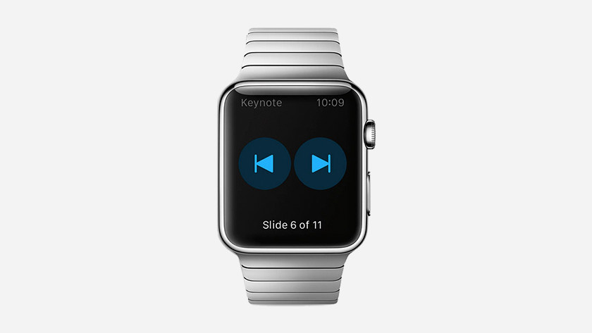 Apple Watch as a clicker in Apple Keynote