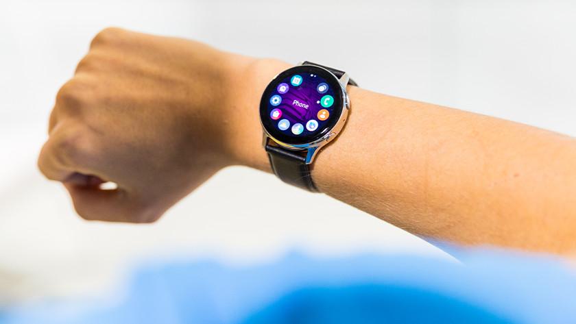 Apps op smartwatch