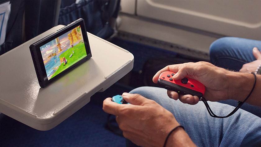 Playing the Switch in the train
