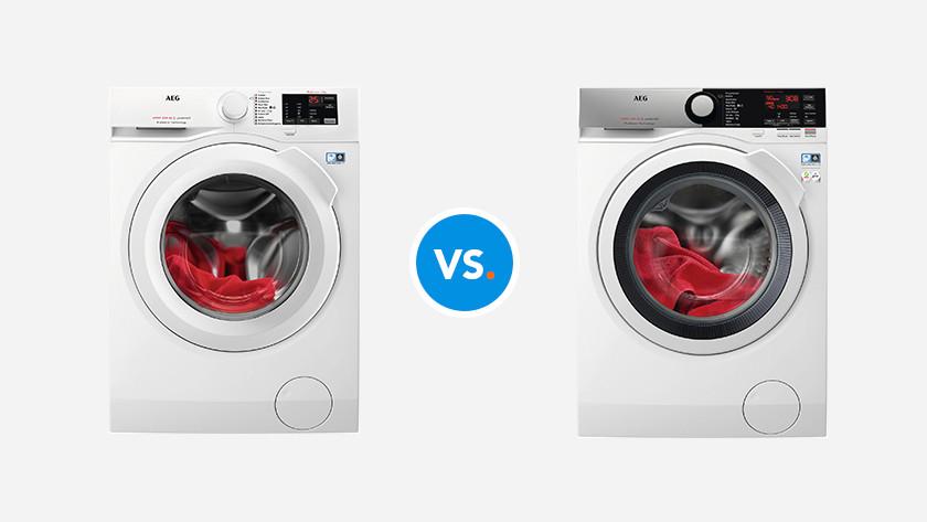 AEG 6000 vs. 7000 washing machine