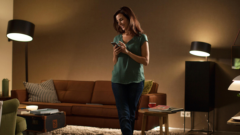 Connecting Philips hue lamps to Google Assistant
