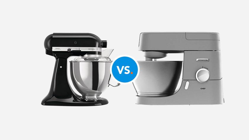 KitchenAid vs Kenwood keukenrobots