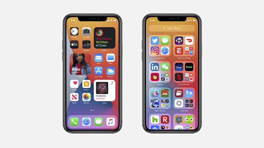 iPhone thuisscherm