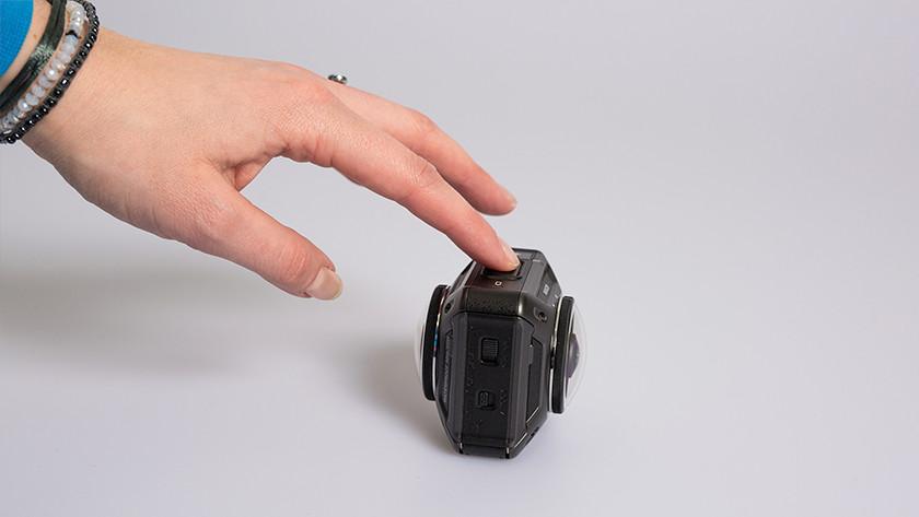 360-degree footage
