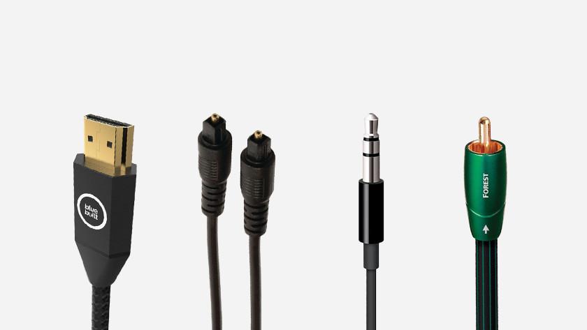 Verschillende kabels