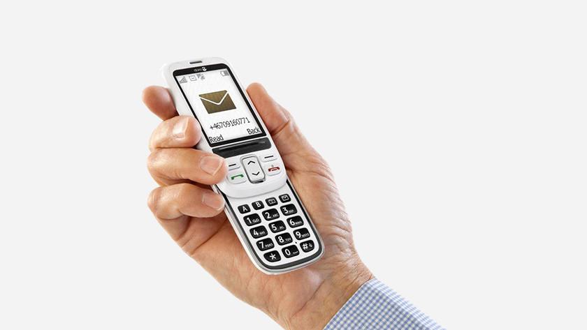 Senioren GSM scherm