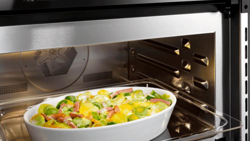 gerecht in combi oven