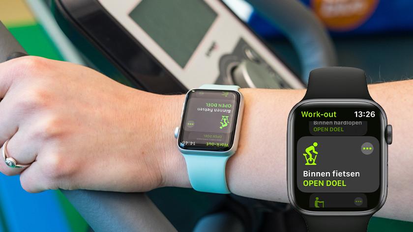 Aan de slag met fietsen met Apple Watch
