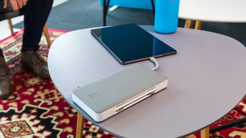 tablet opladen met powerbank