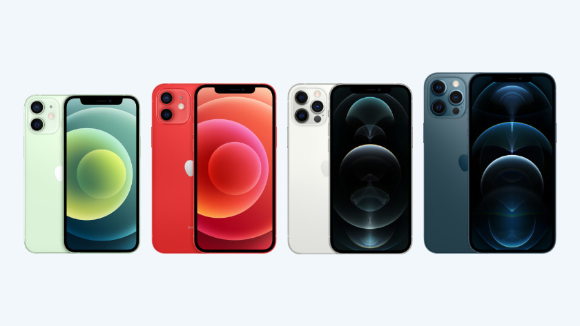 Apple iPhone modellen