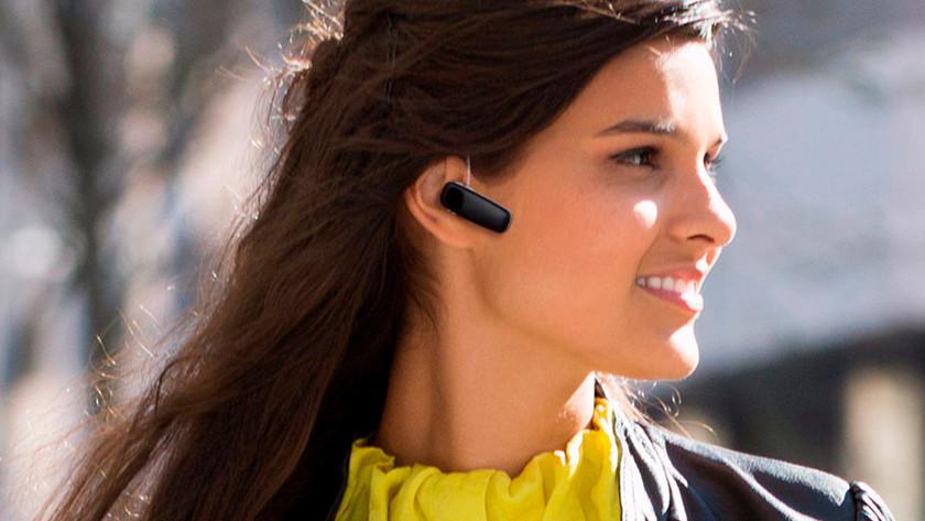 Bluetooth headset in oor