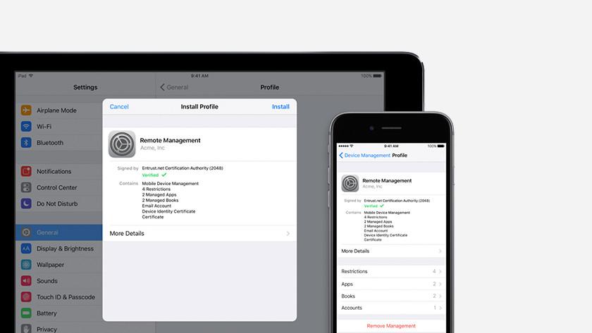 iOS et MDM