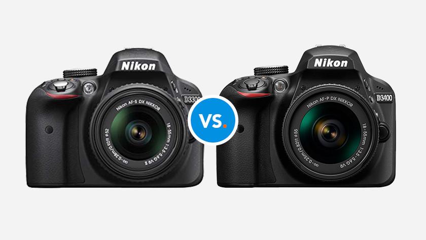 Nikon camera's vergelijken