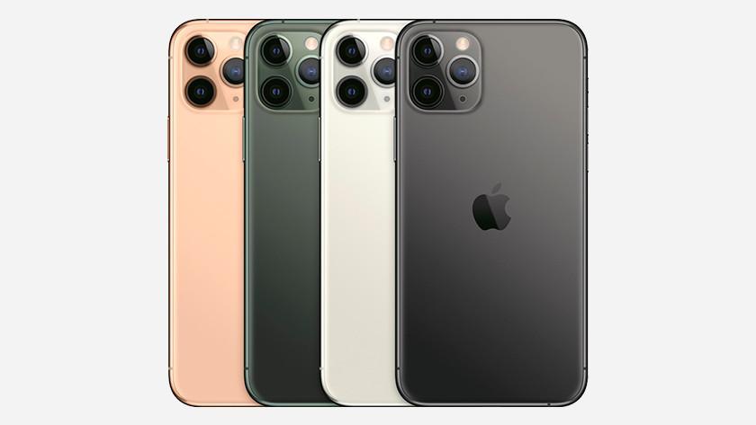 Kleuren Apple iPhone Pro (Max)