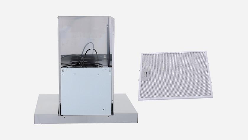 Achterkant dampkap en filter