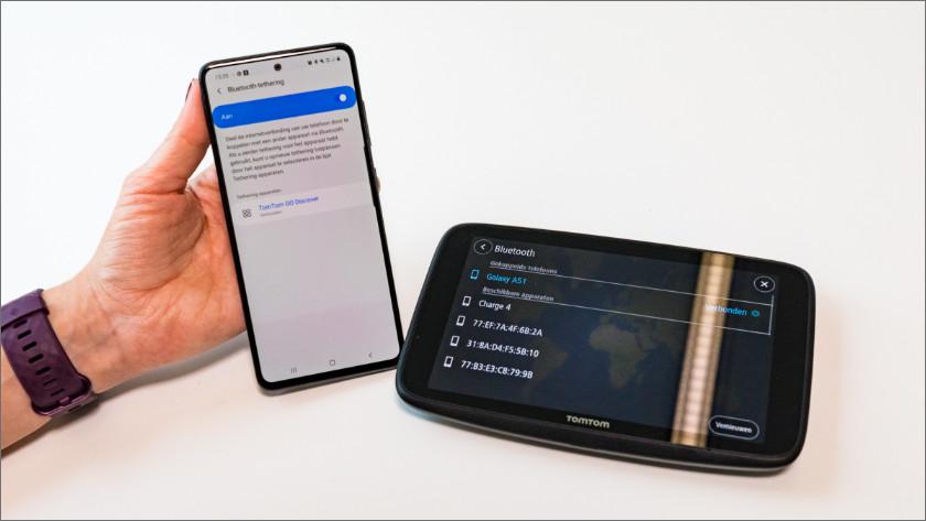 Zet je Bluetooth-tethering verbinding aan