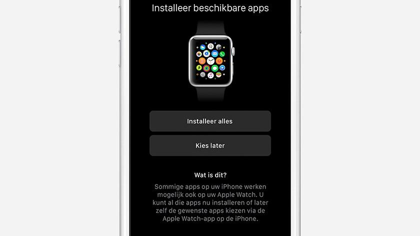 Applis de l'Apple Watch