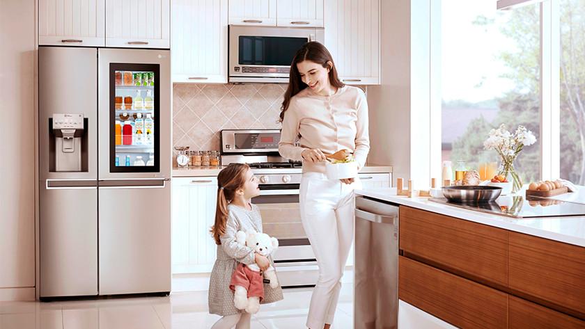 American fridge kitchen