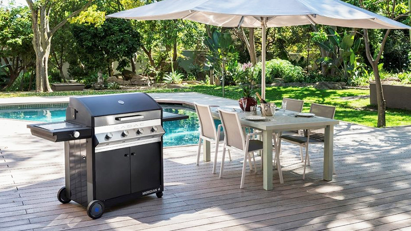 Is your garden suitable for the outdoor kitchen?