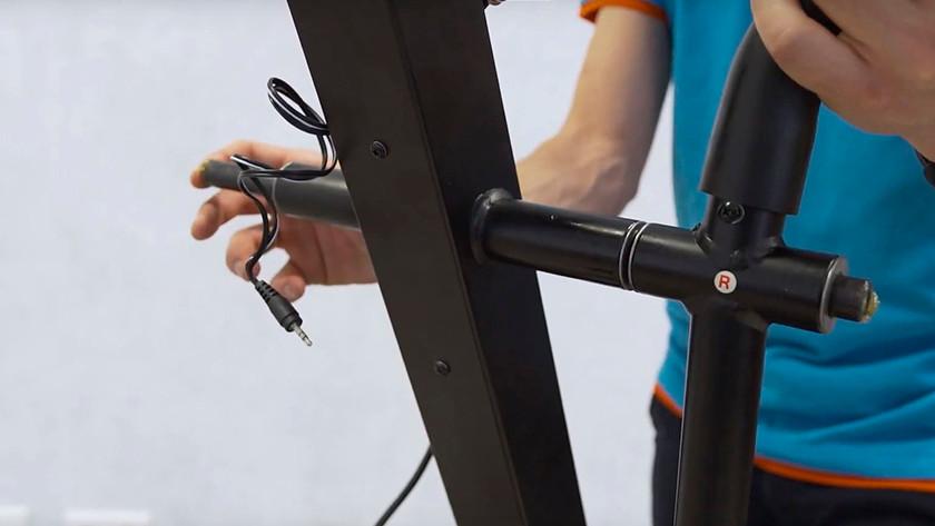 Snoeren verbinden fitnessapparaat