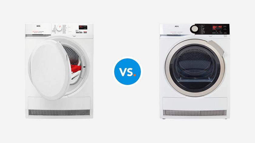 AEG 7000. vs 8000 tumble dryer series