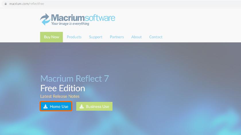 Cloner des données avec le software Macrium Reflect