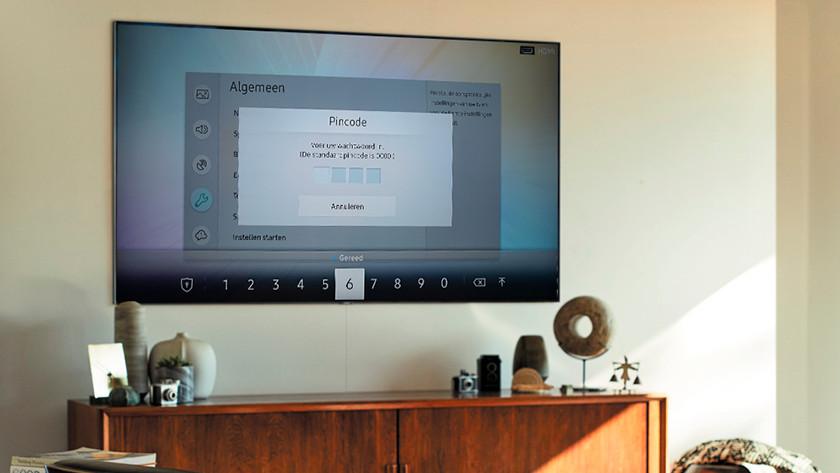 Samsung tv resetten