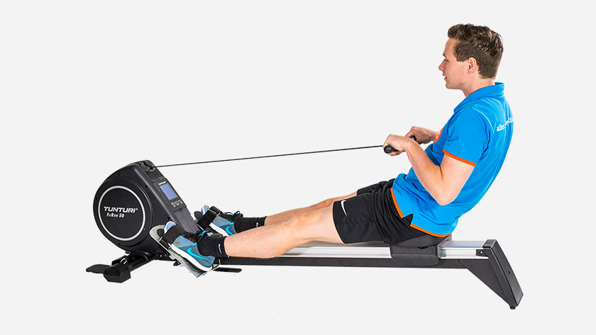 training with rowing machines