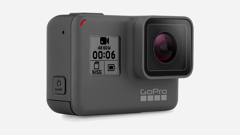Uiterlijke kenmerken GoPro HERO 6
