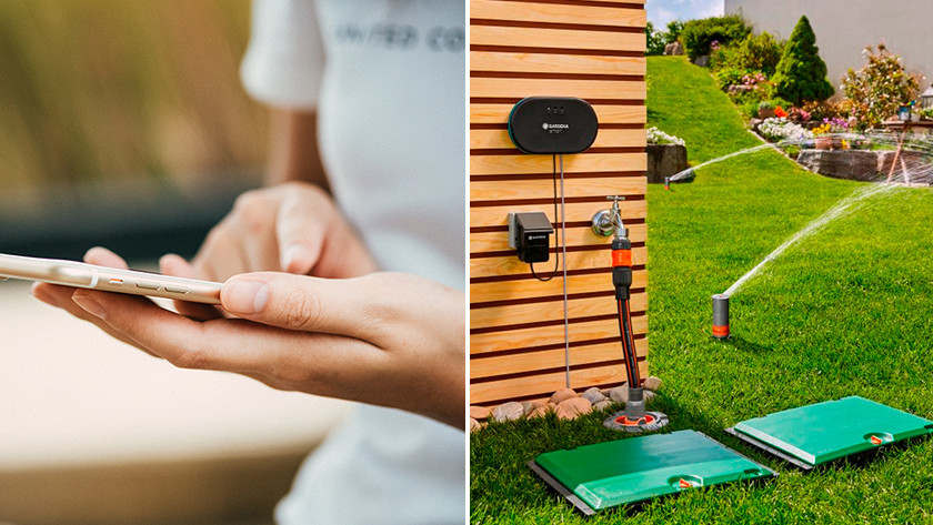 Water your garden with smart system