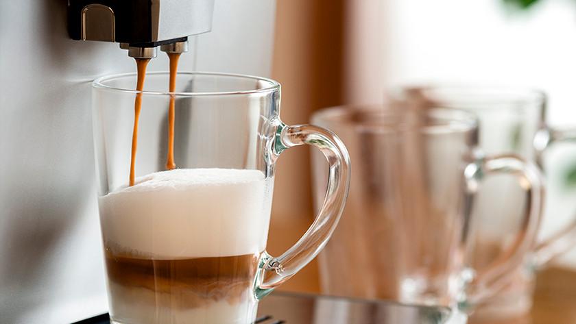 Koffie zetten is niet duur met een volautomatische koffiemachine