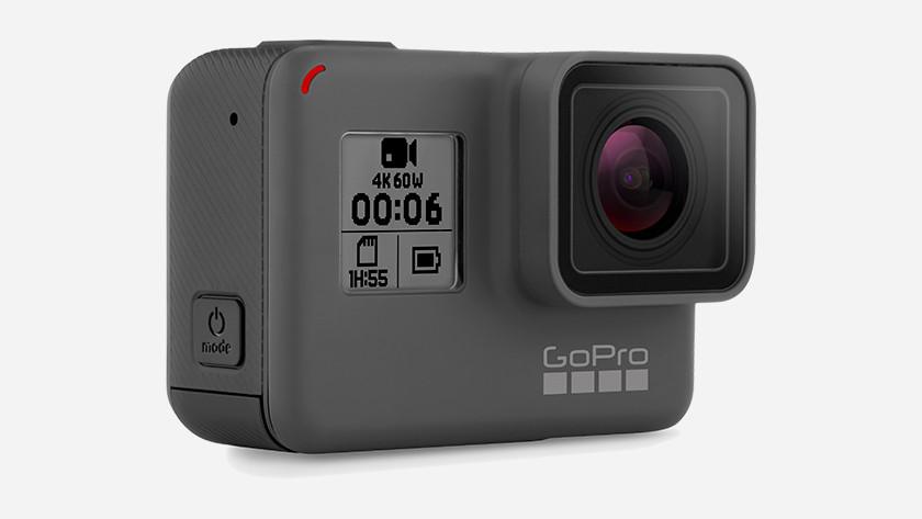 Caractéristiques externes GoPro HERO 6