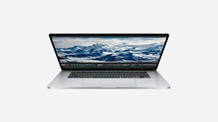 Apple MacBook Pro 16 inch opslagcapaciteit