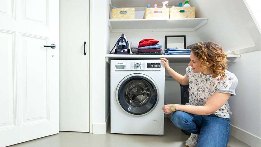Wasmachine installeren