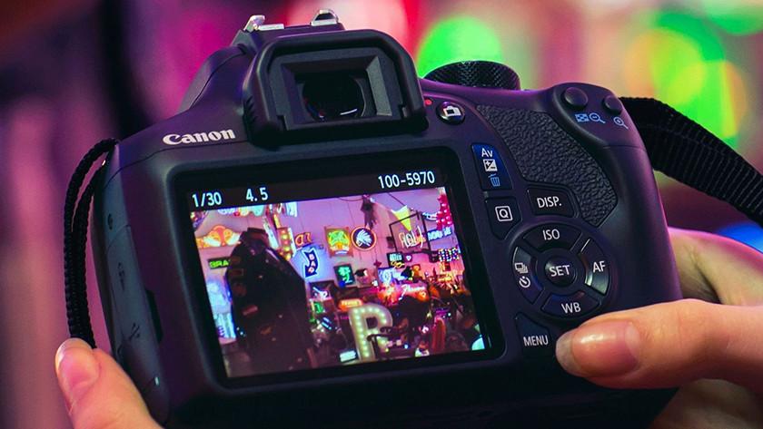 Écran LCD du Canon EOS 1300D