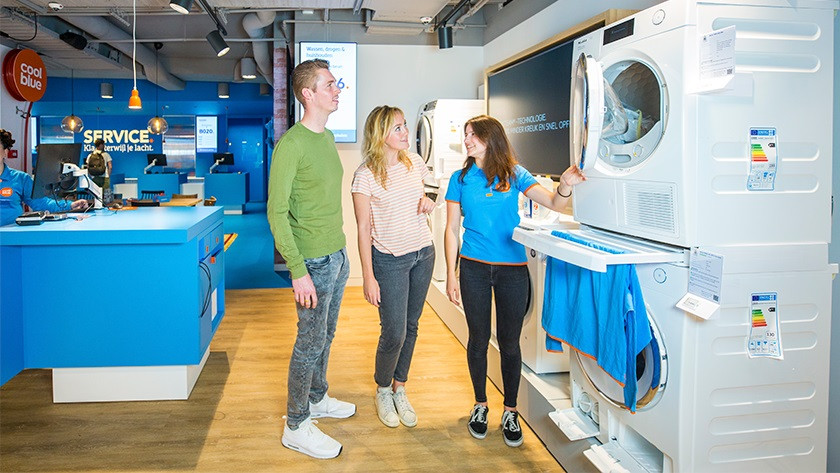 Dryers Coolblue store