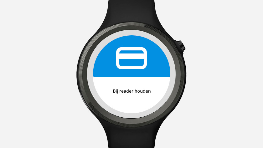 Payer sans contact montre connectée