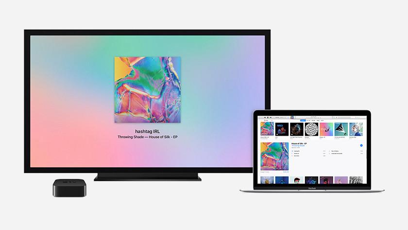 iTunes streamen van Apple Macbook naar Apple TV