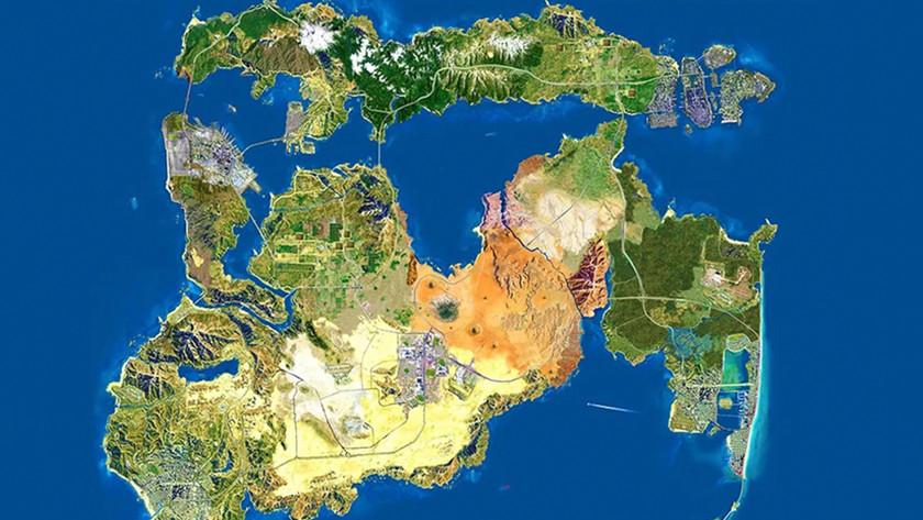 GTA VI map