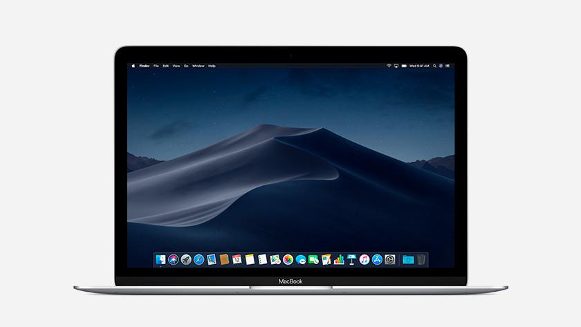 Écran clair de l'Apple MacBook 12 pouces