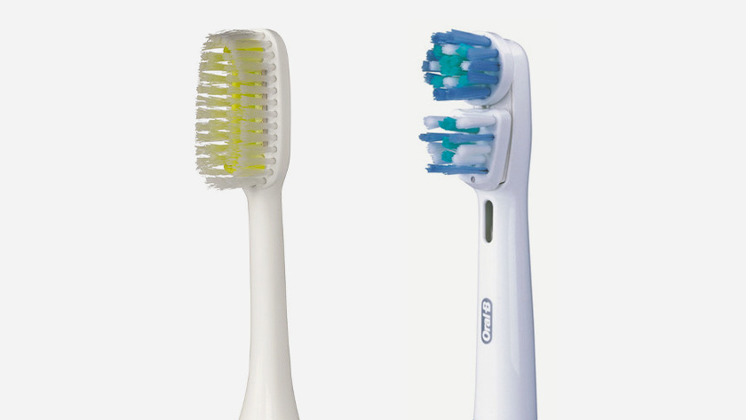 Brush attachments for thorough cleaning